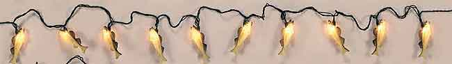 10 FOOT 10 PIECE DECORATIVE LIGHT SETS: WALLEYE