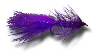 Woolly Bugger - Purple