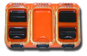 5 Compartment Magnetic Midge Box