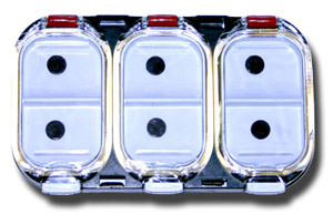6 Compartment Magnetic Midge Box - Style A