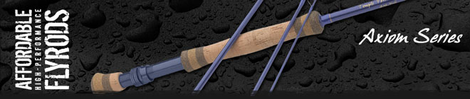 <font color=red>On Sale - Clearance</font><br>TFO Axiom Series Fly Rods - 9' 5wt 4pc (TF 05 90 4 A)