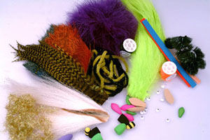 Bass & Pan Fish Fly Tying Materials Kit