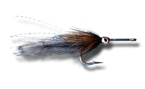 Big Eye Tarpon Fly - Grizzly & Brown