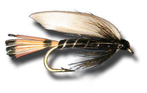 Blae and Black Wet Fly