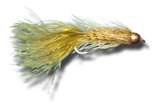 Conehead Woolly Bugger - Olive