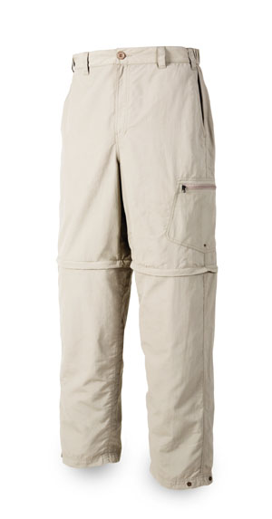 <font color=red>On Sale - Clearance</font><br>Simms Superlight Zip-Off Pant - Oyster
