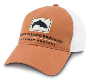 <font color=red>On Sale - Clearance</font><br>Simms Trout Trucker Cap