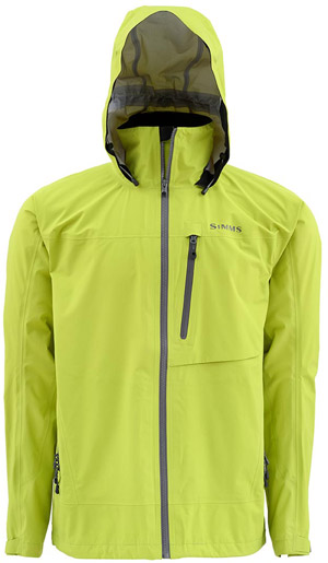 <font color=red>On Sale - Clearance</font><br>Simms Acklins Jacket - Citron