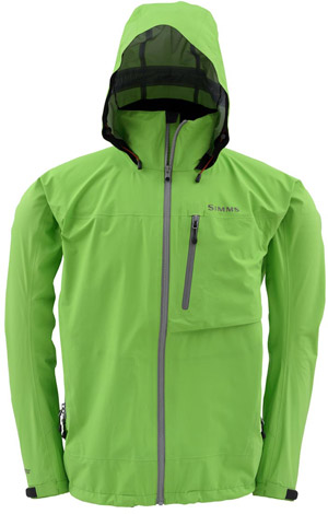 <font color=red>On Sale - Clearance</font><br>Simms Acklins Jacket - Green Apple