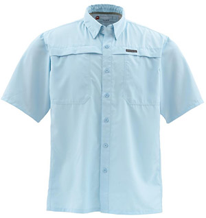 <font color=red>On Sale - Clearance</font><br>Simms Ebbtide SS Shirt - Mist