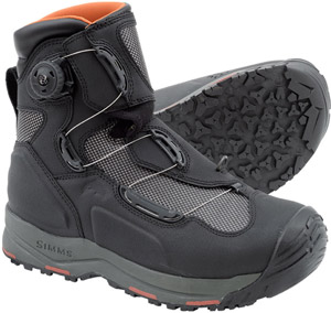 <font color=red>On Sale - Clearance</font><br>Simms G4 Boa Boot - Black