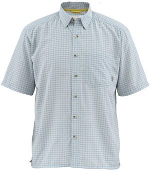 <font color=red>On Sale - Clearance</font><br>Simms Morada SS Shirt - Heron
