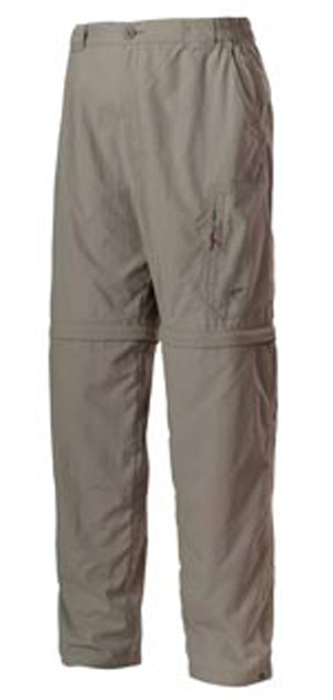 <font color=red>On Sale - Clearance</font><br>Simms Superlight Zip-Off Pant - Cinder