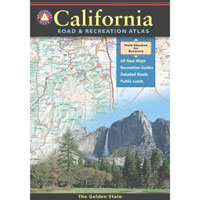 BENCHMARK CALIFORNIA ROAD & RECREATION ATLAS NEW EDITION