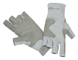 <font color=red>On Sale - Clearance</font><br>Simms Solarflex Guide Glove - Ash