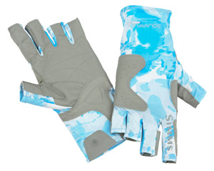 <font color=red>On Sale - Clearance</font><br>Simms Solarflex Guide Glove - Cloud Camo Blue