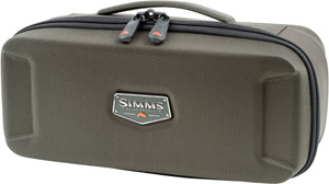 <font color=red>On Sale - Clearance</font><br>Simms Bounty Hunter Reel Case Medium - Coal