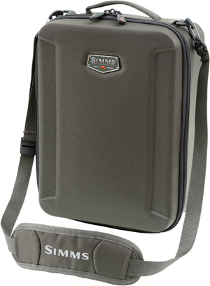 <font color=red>On Sale - Clearance</font><br>Simms Bounty Hunter Reel Case Large - Coal
