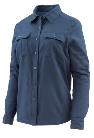 <font color=red>On Sale - Clearance</font><br>Simms Women's Guide Insulated Shirt - Admiral Blue