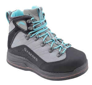 <font color=red>On Sale - Clearance</font><br>Simms Womens VaporTread Boot - Felt - Smoke