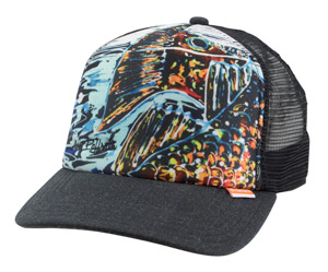 <font color=red>On Sale - Clearance</font><br>Simms Artist Foam Trucker Cap - Black