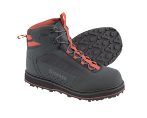 <font color=red>On Sale - Clearance</font><br>Simms Tributary Boot - Rubber - Carbon