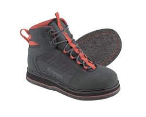 <font color=red>On Sale - Clearance</font><br>Simms Tributary Boot - Felt - Carbon