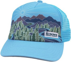Simms Women's Adventure Trucker - Sky Blue