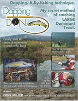 DAPPING. A FLY FISHING TECHNIQUE: MY SECRET METHOD OF CATCHING LARGE DOMINANT TROUT