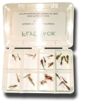 Hare's Ear Assortment - 24 Flies