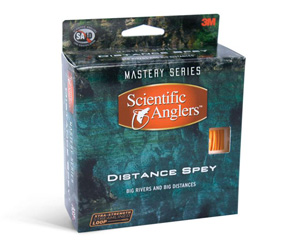 <font color=red>On Sale - Clearance</font><br>Scientific Anglers Distance Spey - Chartreuse/Orange