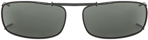 Polarized Clip On Sunglasses - Slide Style - FS-701