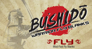 <font color=red>On Sale - Clearance</font><br>Bushido Warrior Fly Blanks