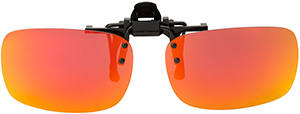 Polarized Clip On Sunglasses - Flip Up - FS-8269