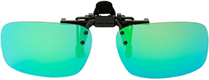Polarized Clip On Sunglasses - Flip Up - FS-8268