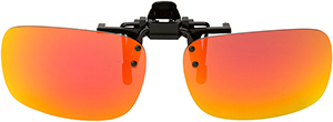 Polarized Clip On Sunglasses - Flip Up - FS-8270
