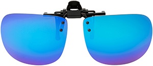 Polarized Clip On Sunglasses - Flip Up - FS-8271