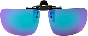 Polarized Clip On Sunglasses - Flip Up - FS-8273