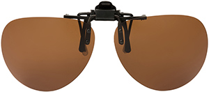Polarized Clip On Sunglasses - Flip Up - FS-8275