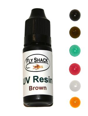 Fly Shack Colored UV Resin