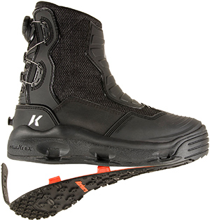 <font color=red>On Sale - Clearance</font><br>Korkers Hatchback Wading Boot - Felt + Kling-On Soles