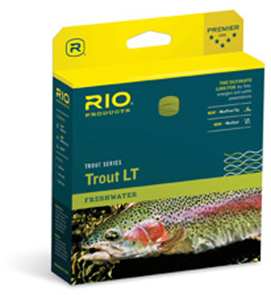 <font color=red>On Sale - Clearance</font><br>Rio Trout LT WF Fly Line - Camo/Beige