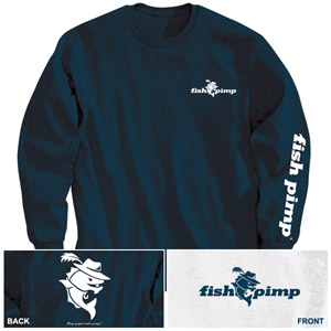 <font color=red>On Sale - Clearance</font><br>Fish Pimp Long-Sleeve T-Shirt