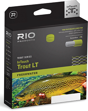 <font color=red>On Sale - Clearance</font><br>Rio InTouch Trout LT - WF Flyline - Beige/Gray/Sage