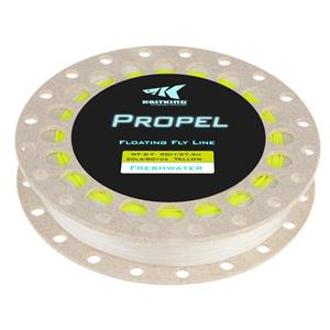 <font color=red>On Sale - Clearance</font><br>KastKing Propel Fly Line w/ Backing - Yellow