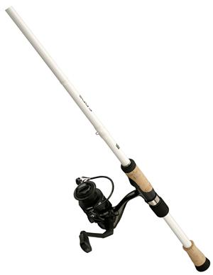 13 Fishing Code White Spinning Combo