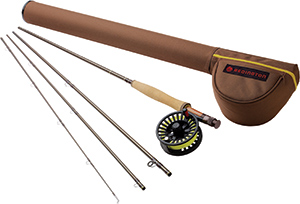 Redington Path Fly Rod/Reel Combo - 4 Piece