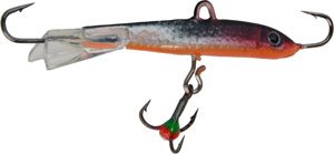 Saber Jigging Minnow - Model 72 - Silver/Orange