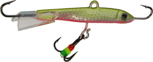 Saber Jigging Minnow - Model 72 - Yellow/Pink