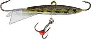 Saber Jigging Minnow - Model 73 - Gold/Silver